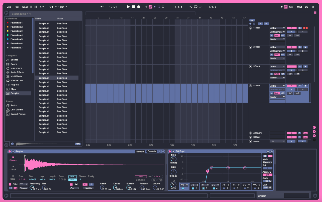 Ableton Live Theme Preview