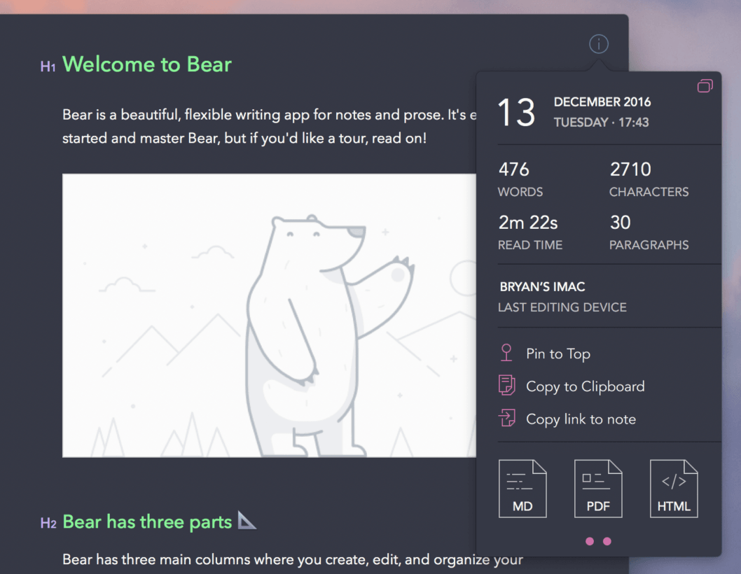 Bear Theme Preview