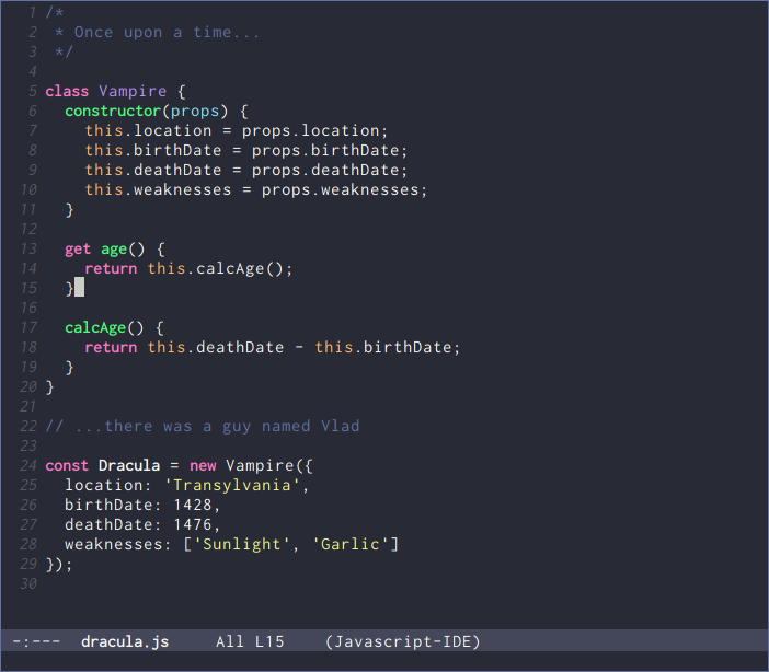 Emacs Theme Preview