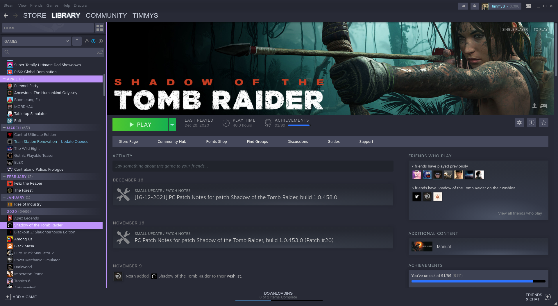 Steam Theme Preview